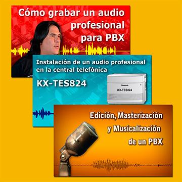 Como Grabar, Editar y Reproducir un Audio Profesional para PBX