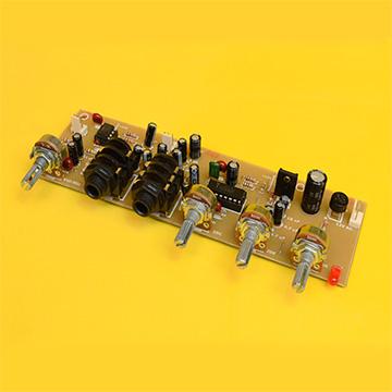 Control de Volumen y Tonos + Preamplificador de Micrófono